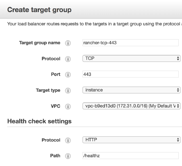 Target group 443