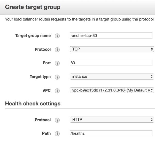 Target group 80